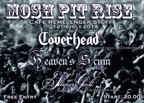 mosh pit rise flyer
