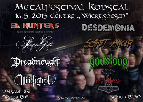 Metal Festival Kopstal 2015